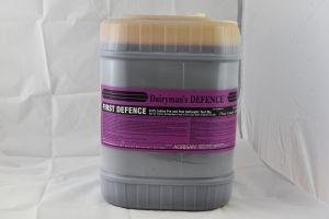 DAIRYMAN'S DEFENCE FIRST DEFENCE 1/2% IODINE PRE-DIP 18.9 LTR